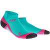 cep Dynamic+ - Chaussettes course à pied Femme - rose/turquoise